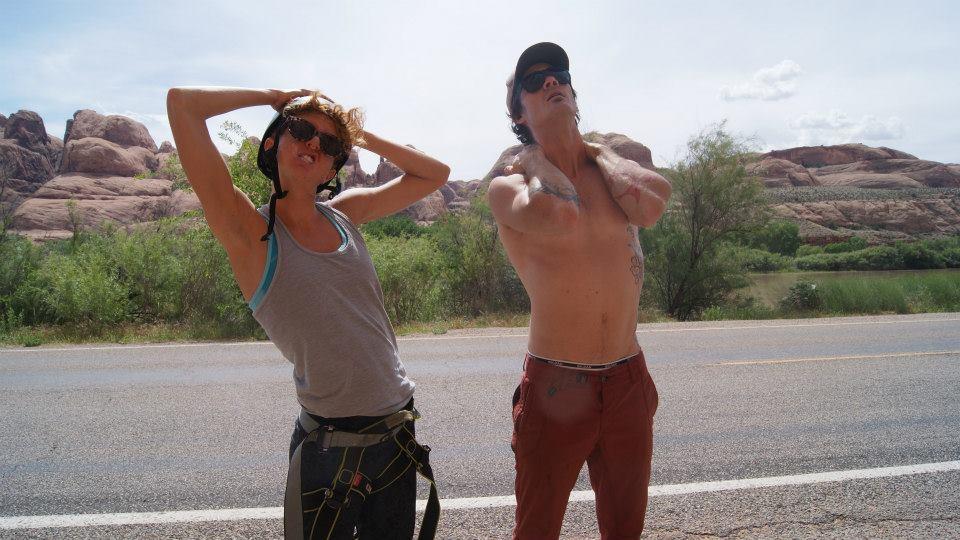 Rock climbing watchers